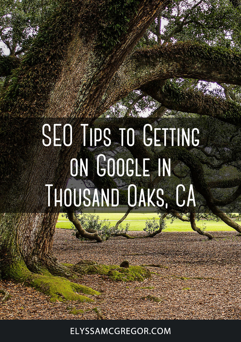 Thousand Oaks SEO - Tips to Getting on Google in Thousand Oaks, CA