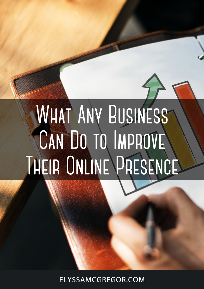 What any business can do to improve their online presence