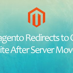 Magento Redirects to Old Site After Server Move